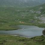 Kis Lala tó és a sátortábor
